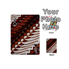 Traditional Batik Sarong Playing Cards 54 (Mini)