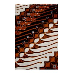Traditional Batik Sarong Shower Curtain 48  x 72  (Small)