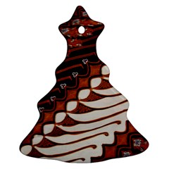 Traditional Batik Sarong Ornament (Christmas Tree)