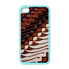 Traditional Batik Sarong Apple Iphone 4 Case (color)