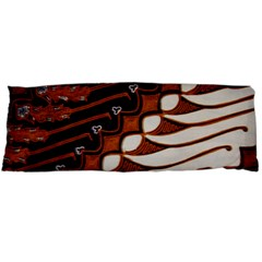 Traditional Batik Sarong Body Pillow Case Dakimakura (Two Sides)