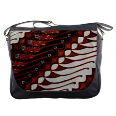 Traditional Batik Sarong Messenger Bags