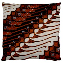 Traditional Batik Sarong Large Cushion Case (Two Sides)