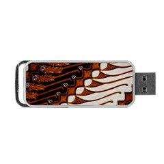 Traditional Batik Sarong Portable USB Flash (One Side)