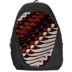 Traditional Batik Sarong Backpack Bag