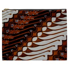 Traditional Batik Sarong Cosmetic Bag (XXXL)