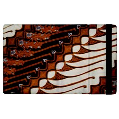 Traditional Batik Sarong Apple iPad 2 Flip Case