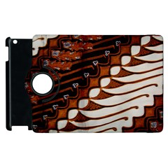 Traditional Batik Sarong Apple iPad 3/4 Flip 360 Case