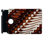 Traditional Batik Sarong Apple iPad 3/4 Flip 360 Case Front