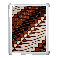 Traditional Batik Sarong Apple iPad 3/4 Case (White)
