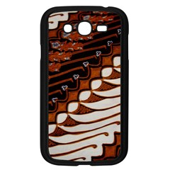 Traditional Batik Sarong Samsung Galaxy Grand Duos I9082 Case (black)