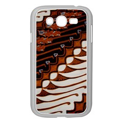 Traditional Batik Sarong Samsung Galaxy Grand DUOS I9082 Case (White)