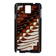 Traditional Batik Sarong Samsung Galaxy Note 3 N9005 Case (Black)