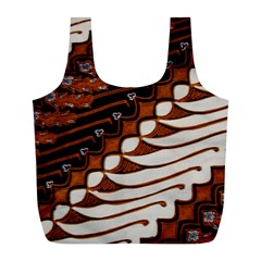 Traditional Batik Sarong Full Print Recycle Bags (L)