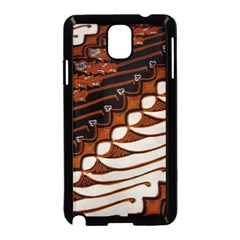 Traditional Batik Sarong Samsung Galaxy Note 3 Neo Hardshell Case (Black)