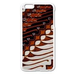 Traditional Batik Sarong Apple Iphone 6 Plus/6s Plus Enamel White Case