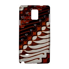 Traditional Batik Sarong Samsung Galaxy Note 4 Hardshell Case