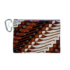 Traditional Batik Sarong Canvas Cosmetic Bag (M)