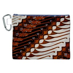Traditional Batik Sarong Canvas Cosmetic Bag (XXL)