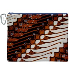 Traditional Batik Sarong Canvas Cosmetic Bag (XXXL)