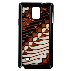 Traditional Batik Sarong Samsung Galaxy Note 4 Case (Black)