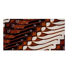 Traditional Batik Sarong Satin Shawl