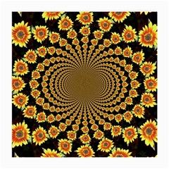 Psychedelic Sunflower Medium Glasses Cloth (2-Side)