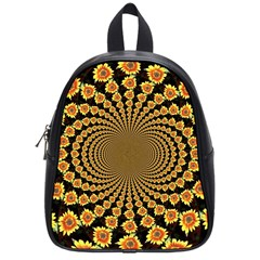 Psychedelic Sunflower School Bags (Small)