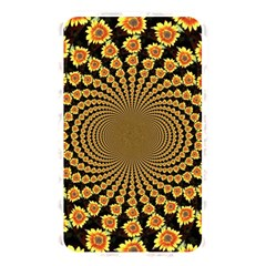 Psychedelic Sunflower Memory Card Reader