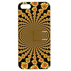 Psychedelic Sunflower Apple iPhone 5 Hardshell Case with Stand