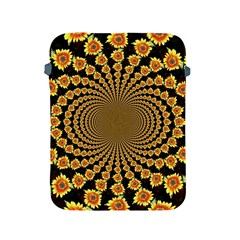 Psychedelic Sunflower Apple iPad 2/3/4 Protective Soft Cases