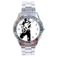 Lemmy   Stainless Steel Analogue Watch