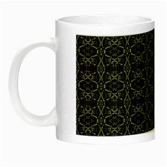Dark Interlace Tribal  Night Luminous Mugs