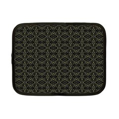 Dark Interlace Tribal  Netbook Case (Small)