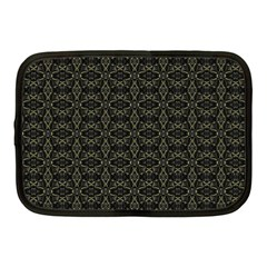 Dark Interlace Tribal  Netbook Case (Medium)