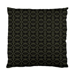 Dark Interlace Tribal  Standard Cushion Case (One Side)