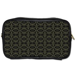 Dark Interlace Tribal  Toiletries Bags