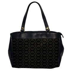 Dark Interlace Tribal  Office Handbags