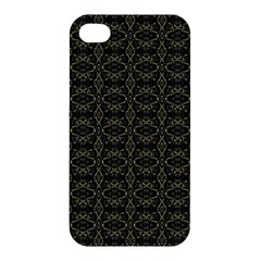 Dark Interlace Tribal  Apple Iphone 4/4s Hardshell Case