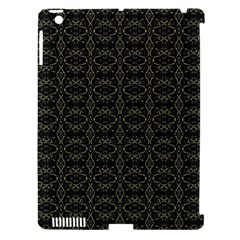 Dark Interlace Tribal  Apple iPad 3/4 Hardshell Case (Compatible with Smart Cover)