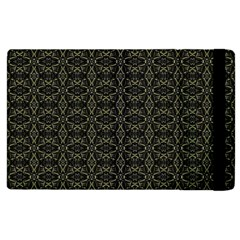 Dark Interlace Tribal  Apple iPad 2 Flip Case