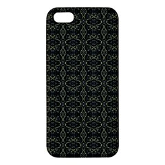 Dark Interlace Tribal  iPhone 5S/ SE Premium Hardshell Case