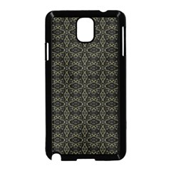 Dark Interlace Tribal  Samsung Galaxy Note 3 Neo Hardshell Case (Black)