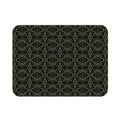 Dark Interlace Tribal  Double Sided Flano Blanket (Mini)