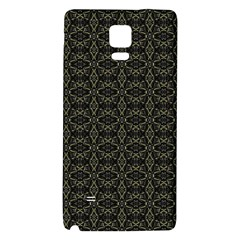 Dark Interlace Tribal  Galaxy Note 4 Back Case