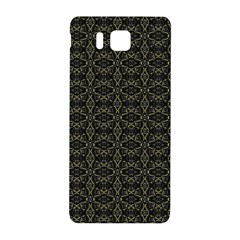 Dark Interlace Tribal  Samsung Galaxy Alpha Hardshell Back Case