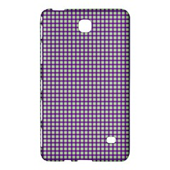 Mardi Gras Purple Plaid Samsung Galaxy Tab 4 (7 ) Hardshell Case