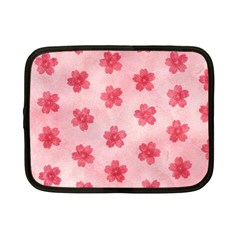 Watercolor Flower Patterns Netbook Case (Small)