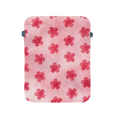 Watercolor Flower Patterns Apple iPad 2/3/4 Protective Soft Cases