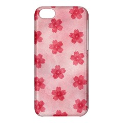 Watercolor Flower Patterns Apple iPhone 5C Hardshell Case